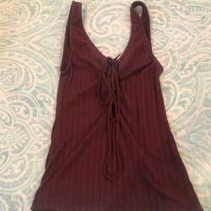 LIKE NEW URBAN OUTFITTERS MAROON TANK